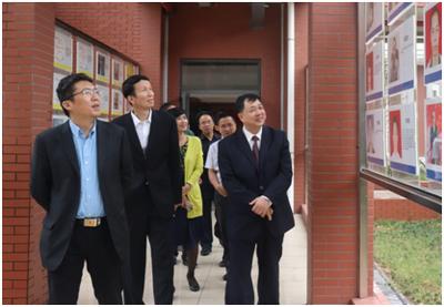 广州市政协主席刘悦伦来校调研 祝贺佛科院建校60周年
